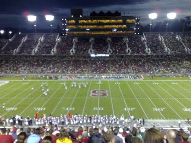 Stanford vs Oregon 2007-09-22