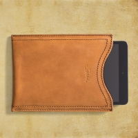 Saddleback Leather gadget sleeve (Medium), $41.